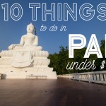 10 Things to do in Pai under $1