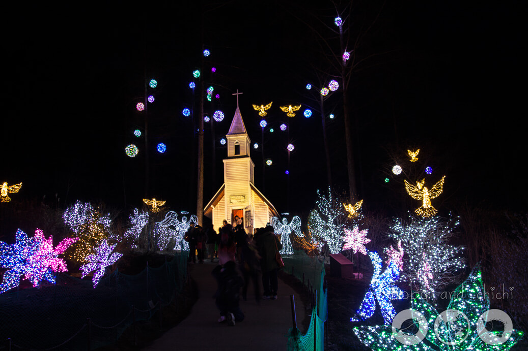 Lighting Festival Seoul Cheongpyong Garden of Morning Calm Church
