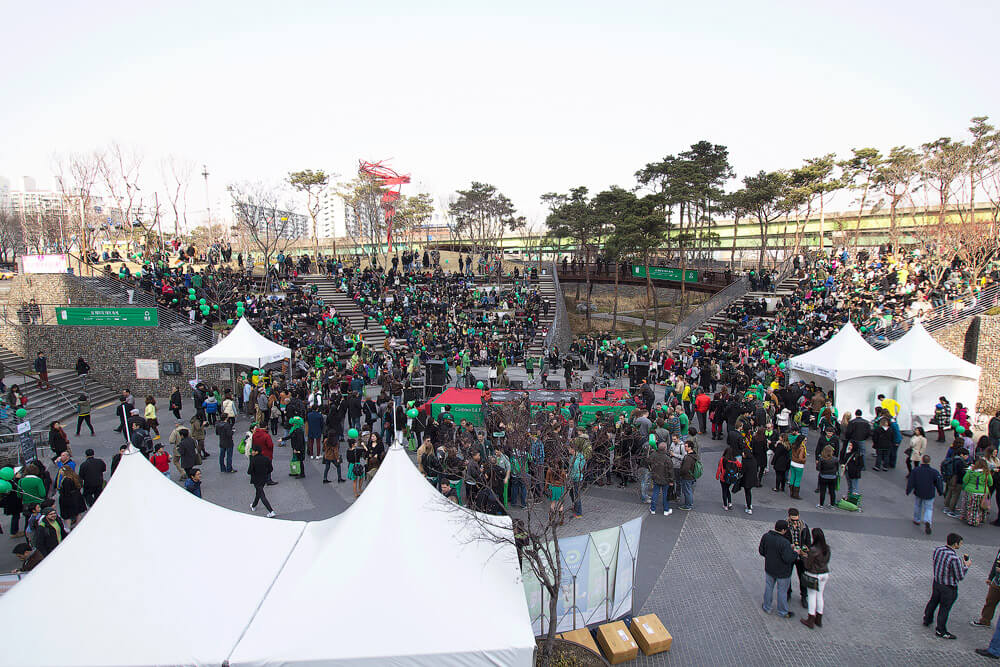 St Patricks Day Festival in Seoul