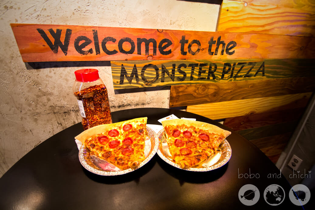 Monster Pizza | Things to Do in Hongdae