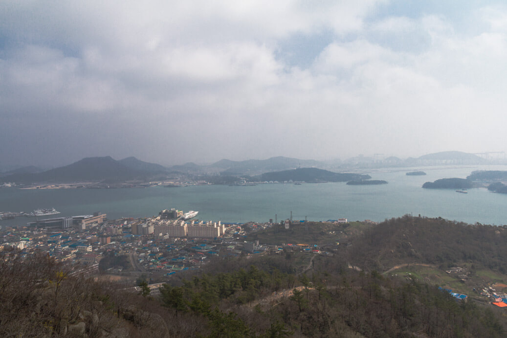 Mount Yudalsan view