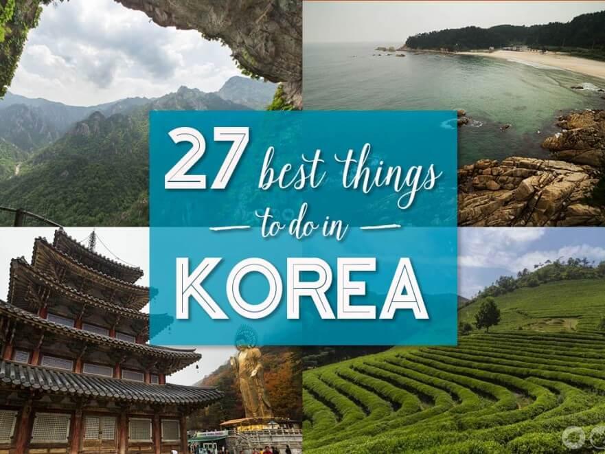 best things in korea
