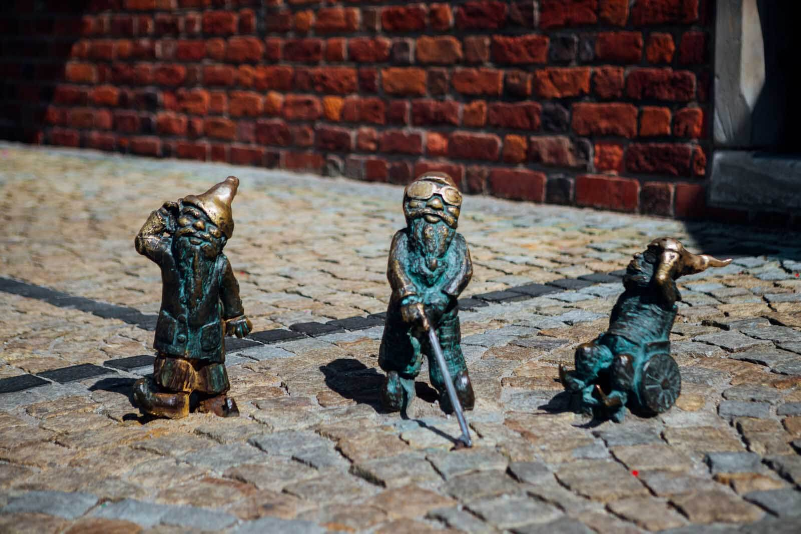 3 Dwarves in Wroclaw