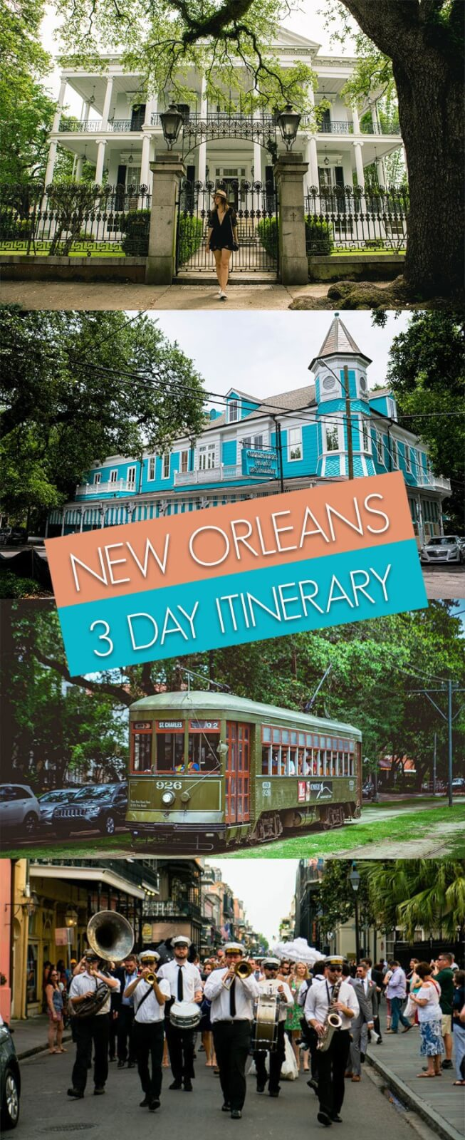 3 day itinerary new orleans
