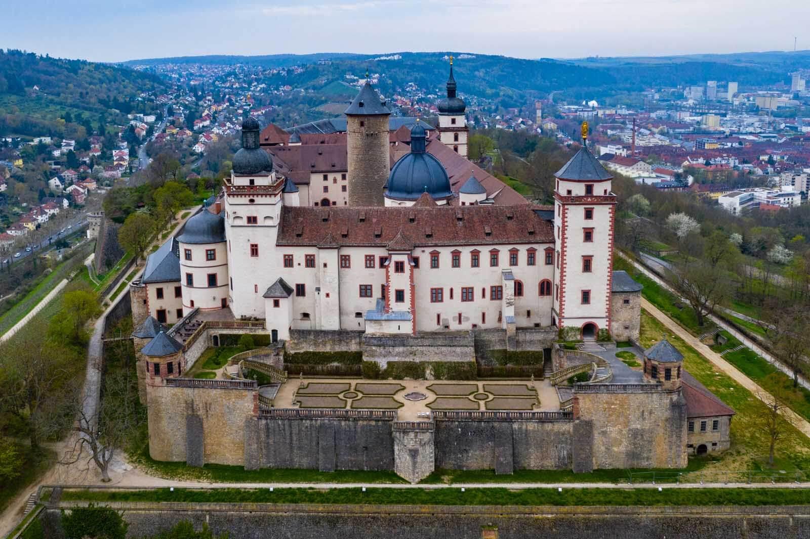 Fortress Marienberg in Würzburg Germany