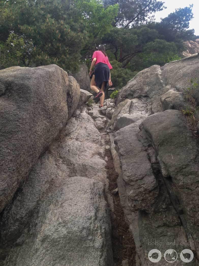 Bukhansan Uisanbong Peak
