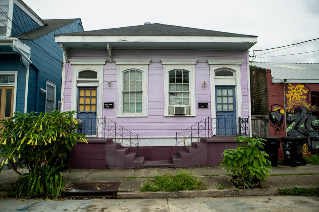 Shotgun Home in Marigny