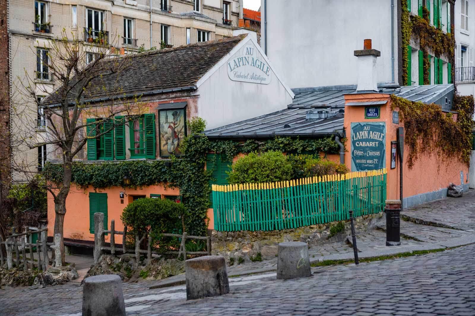 Au Lapin Agile cabaret in Montmartre Paris