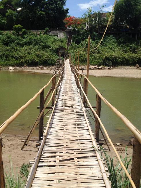 Bamboo Bridge | What to Do in Luang Prabang