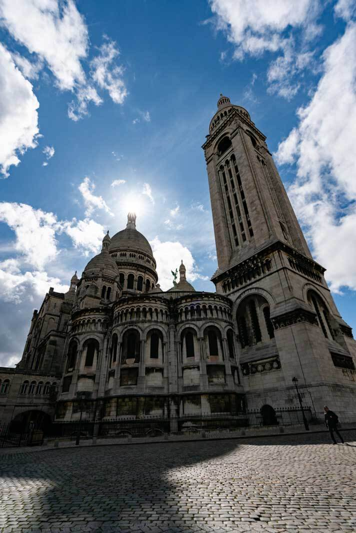 Basilica of the Sacred Heart in Montmartre Paris