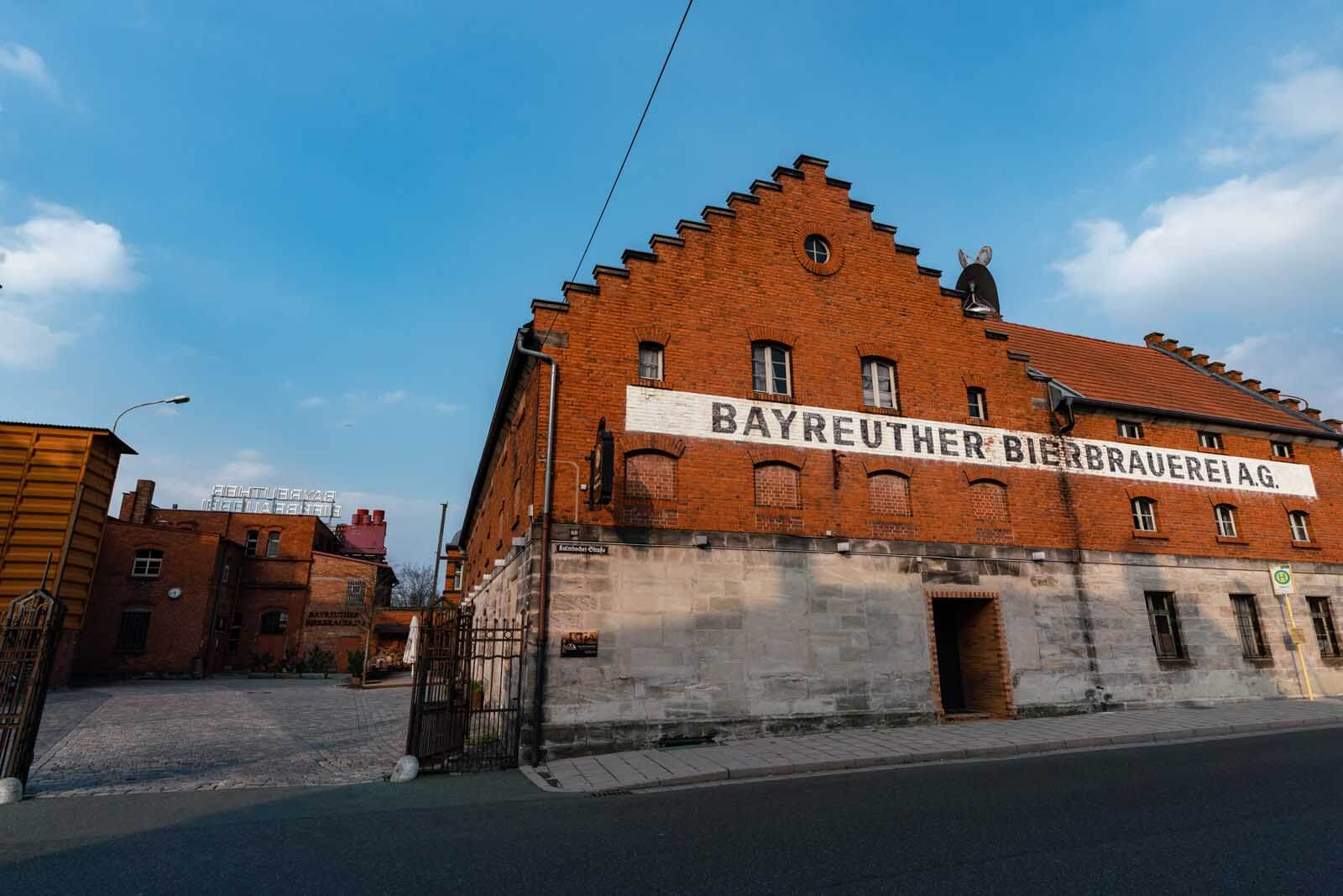 Bayreuther Brewery in Bayreuth Germany