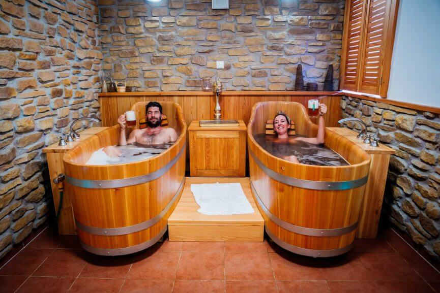 Beer Spa in South Bohemia Czech Republic
