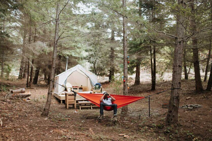 Best-Glamping-in-upstate-new-york-tentrr