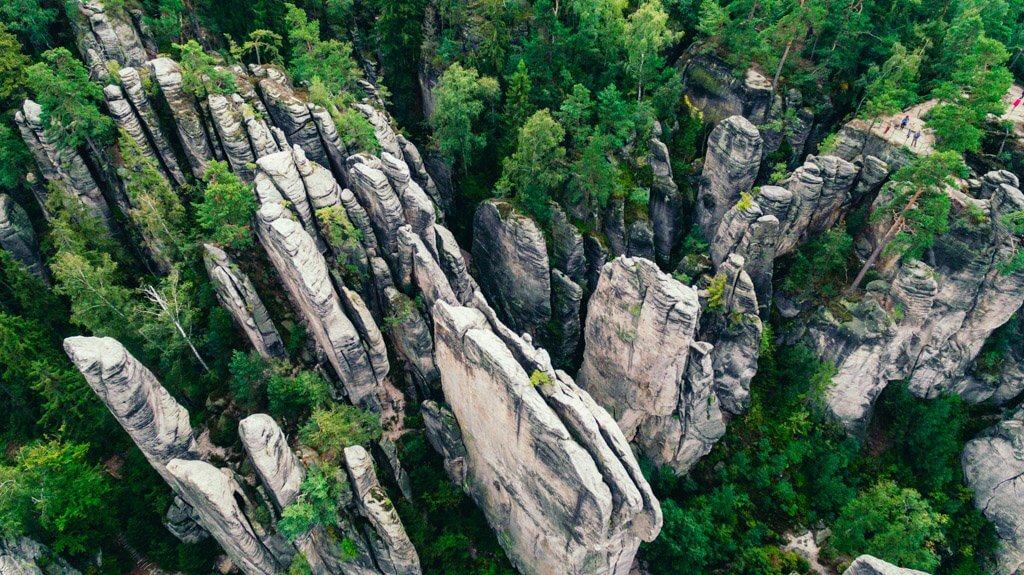 Bohemian Paradise Prachov Rocks