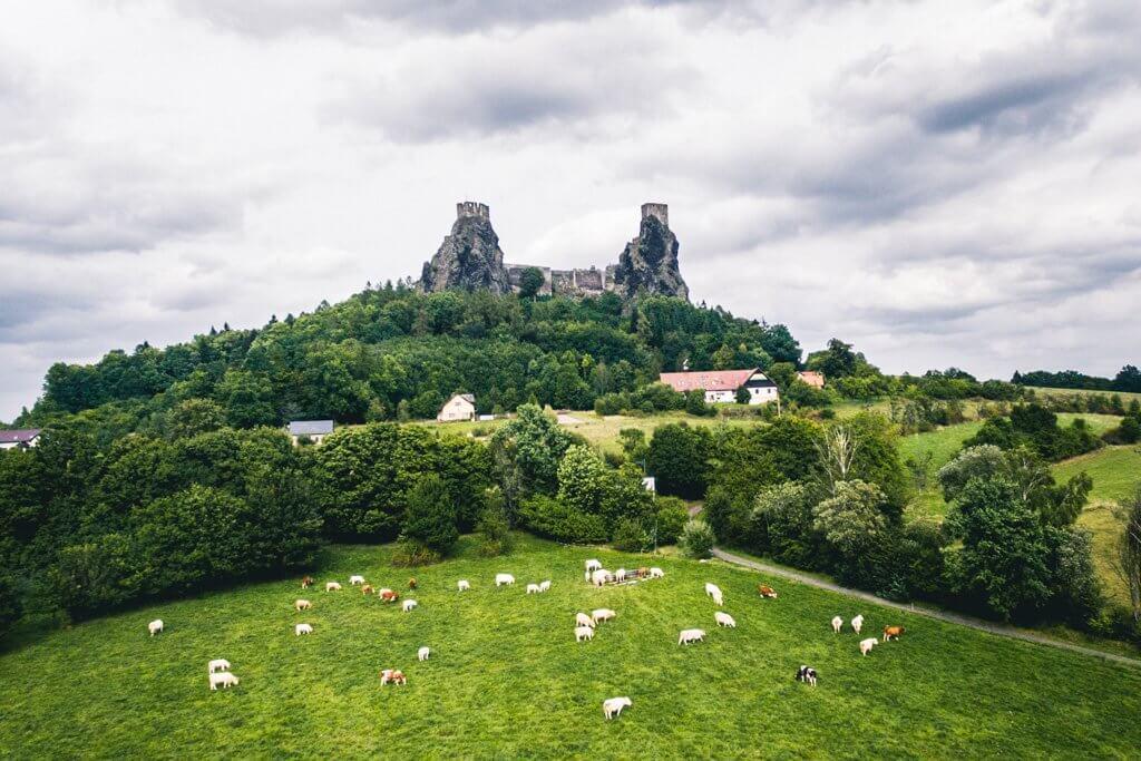 Bohemian Paradise Trosky Castle