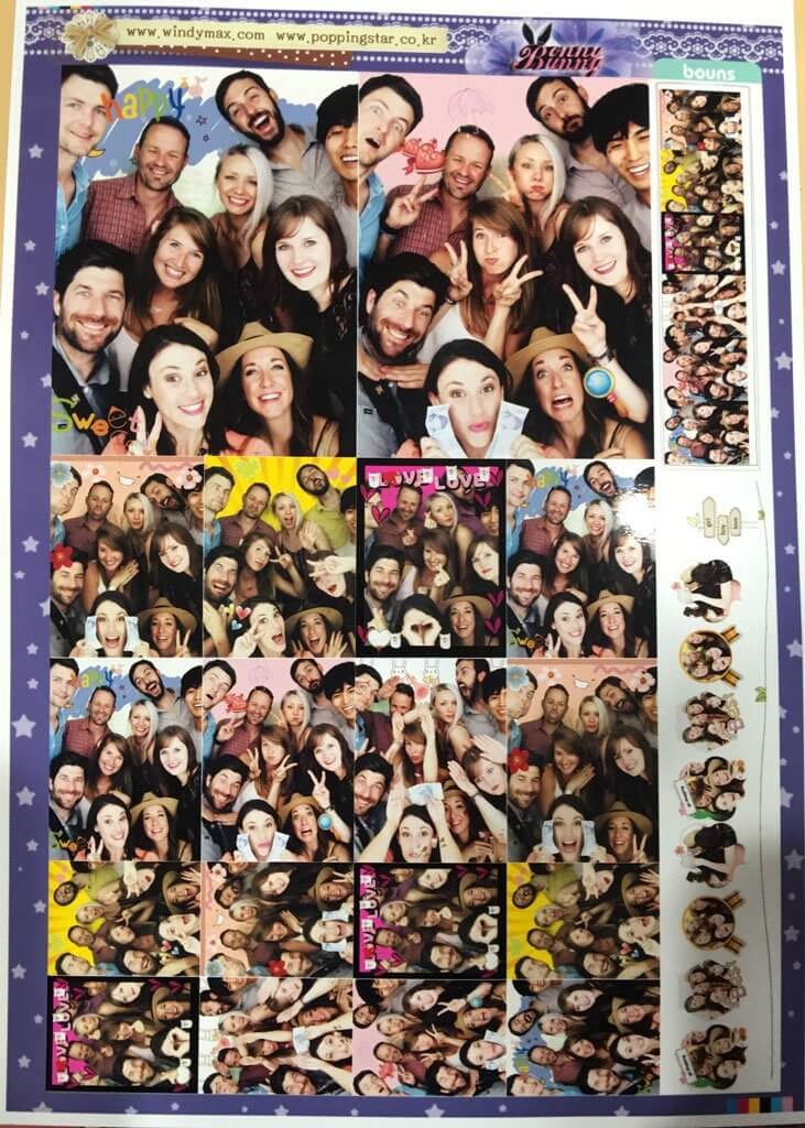 Fun Photo Booth in Korea