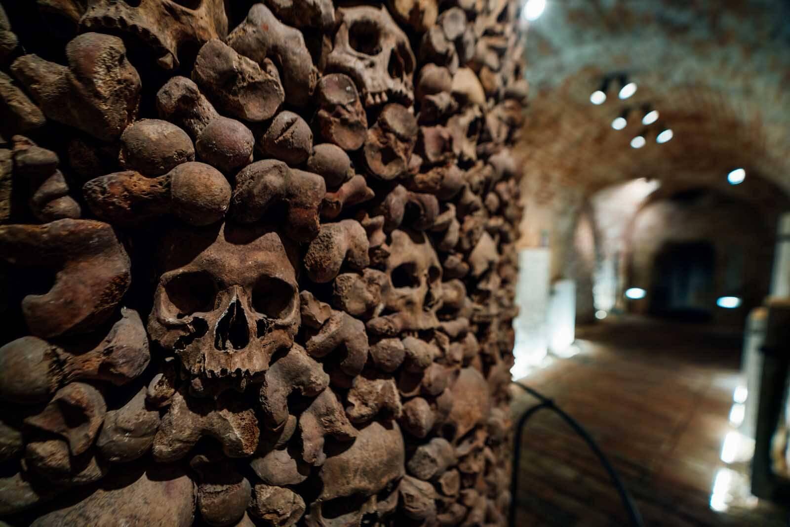 Brno Ossuary and underground