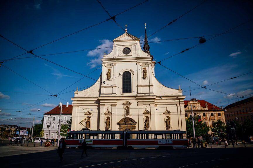 Brno street scene