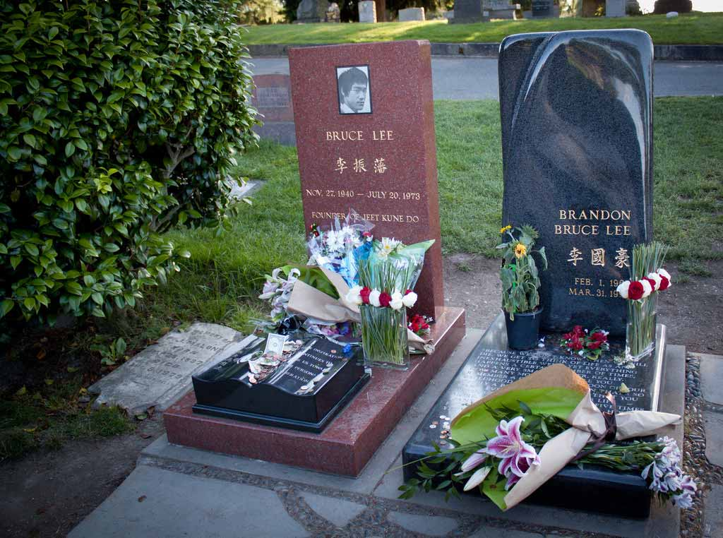 Bruce Lee's Burial Site