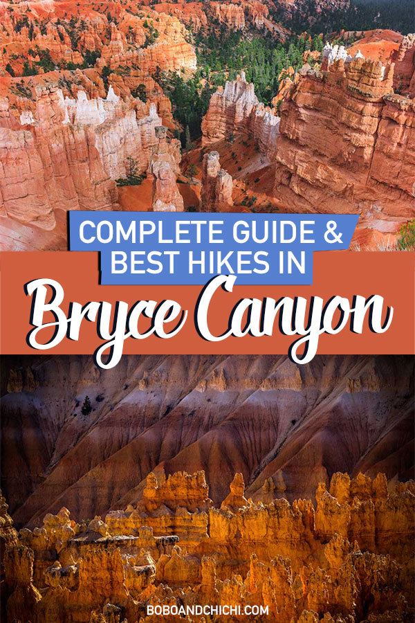 best hikes in bryce canyon utah