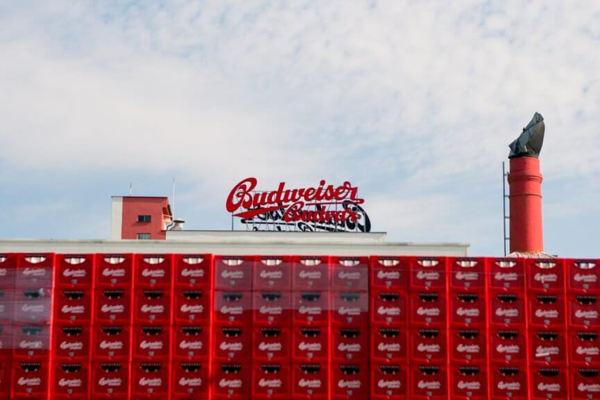Budweiser tour in Ceske Budejovice
