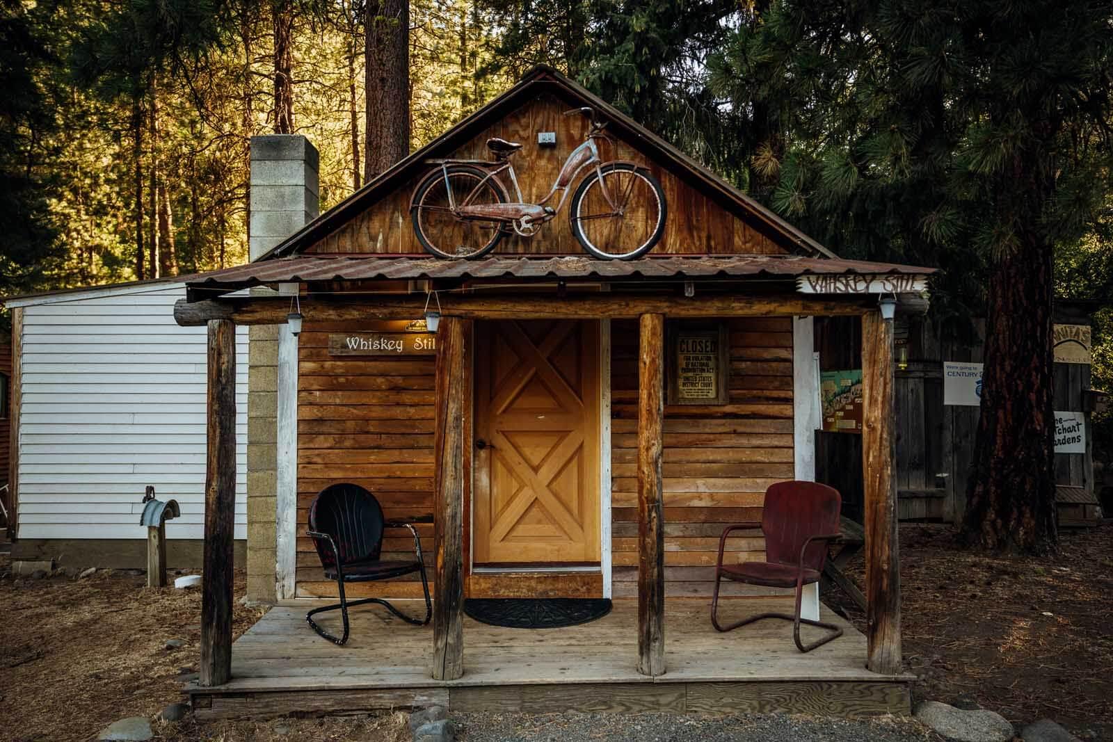 Cabin at Elk Ridge Campground in Naches