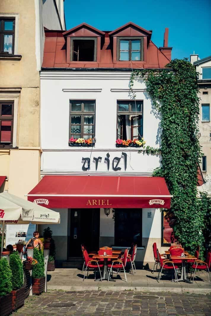 Cafe in Kazimierz Krakow