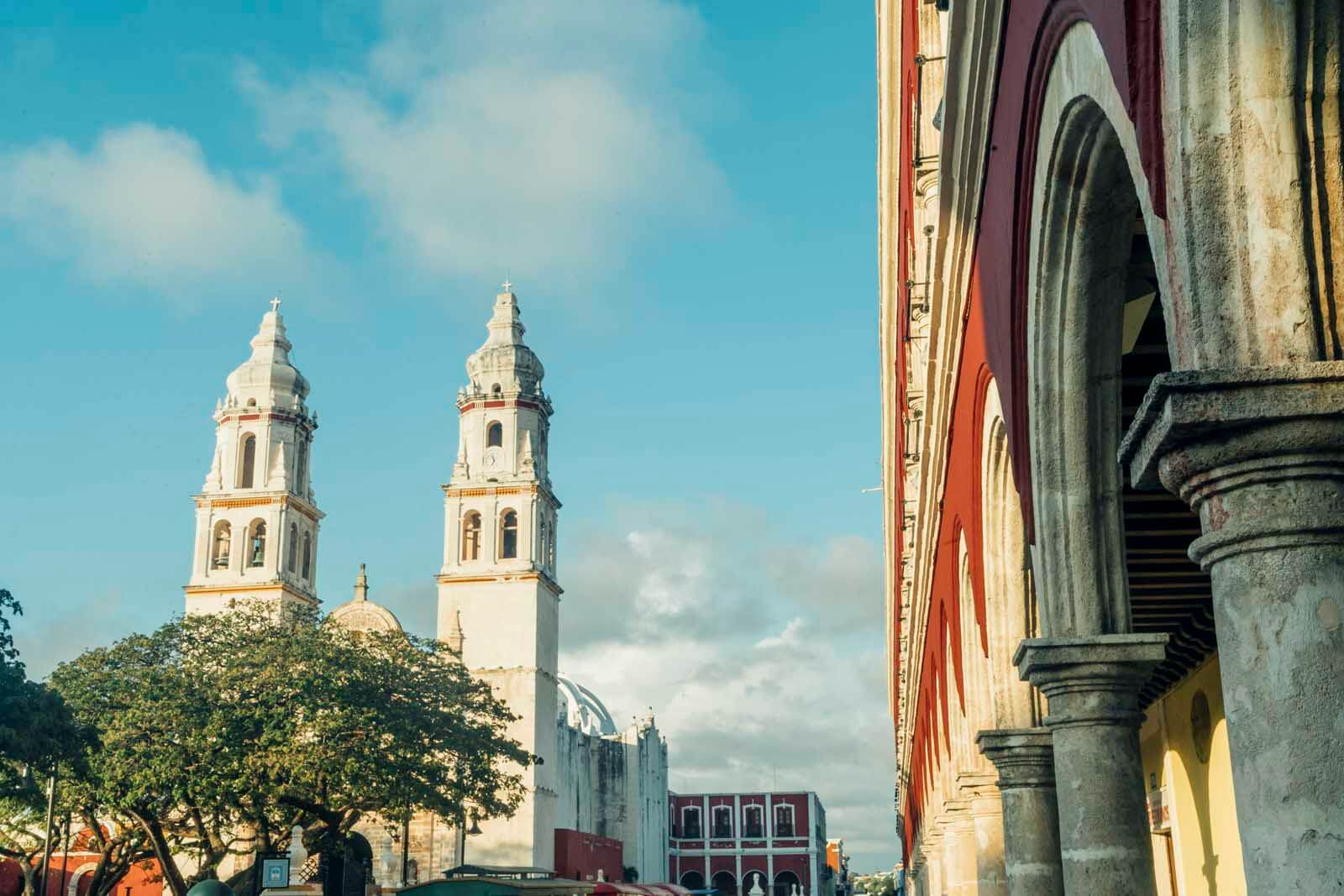 Campeche Centro and Cathedral