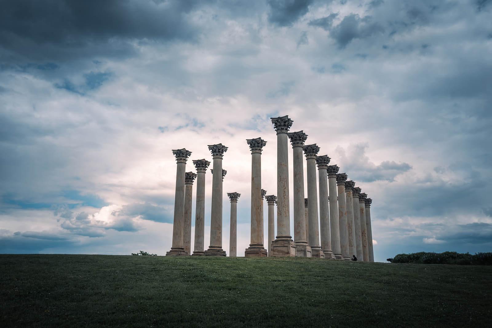 Capitol Columns at the Natioan Arboretum in Washington DC