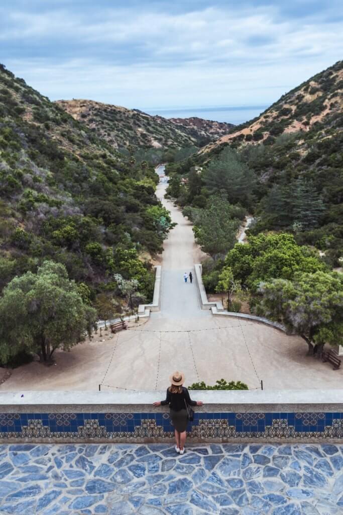 Wrigley Botanical Gardens on Catalina Island in California