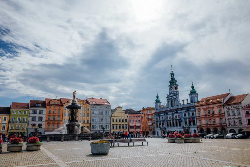 Town Center Ceske Budejovice