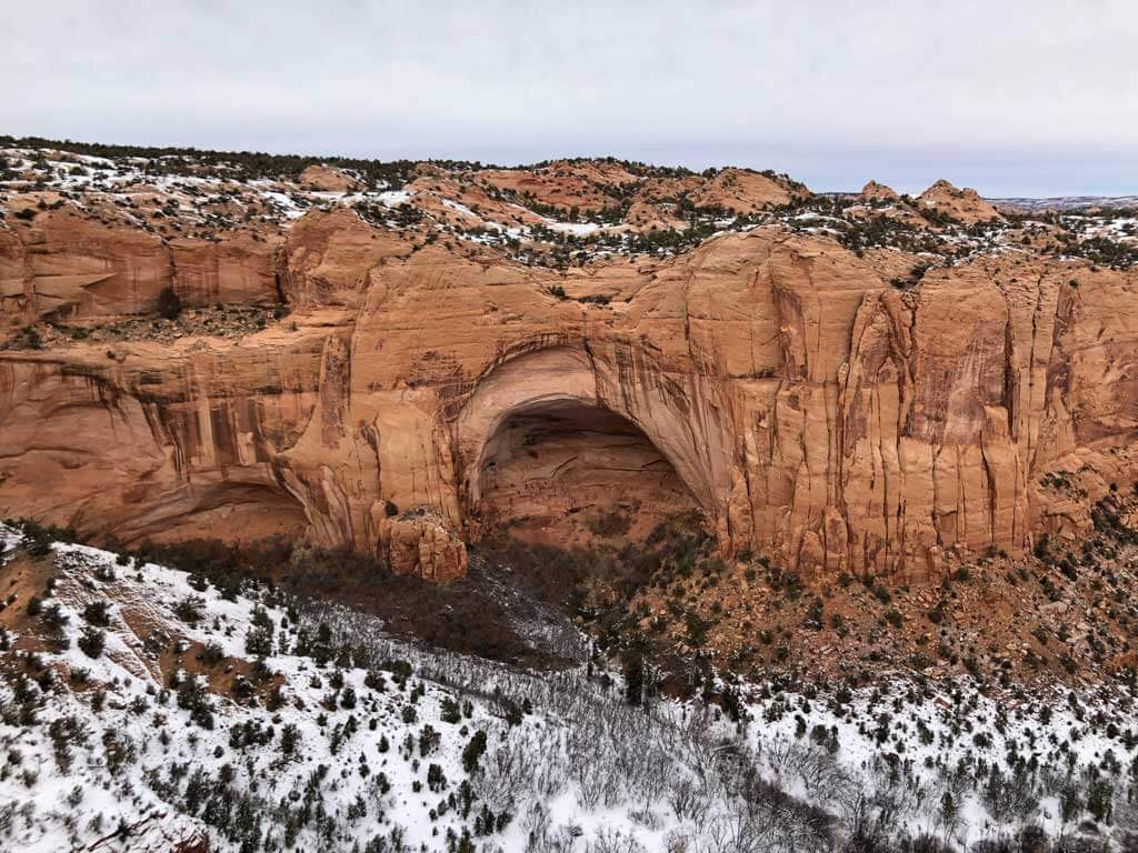 The Cliff dwellings at the navajo national monument