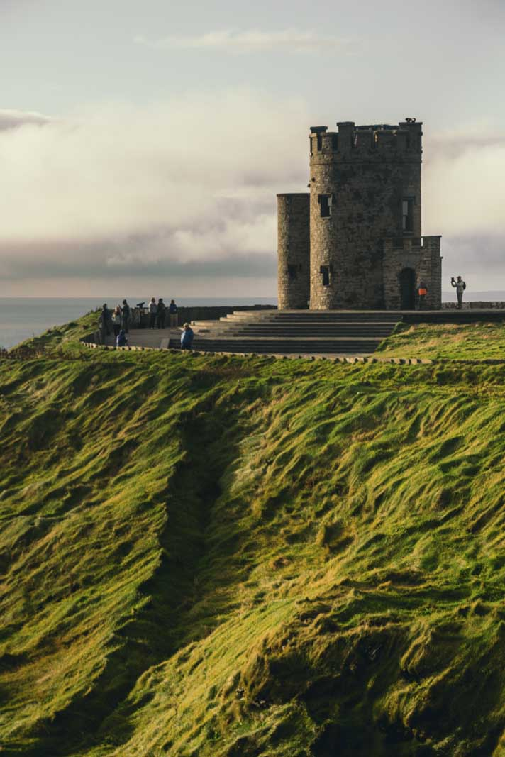O Briens Tower at Cliffs of Moher Doolin