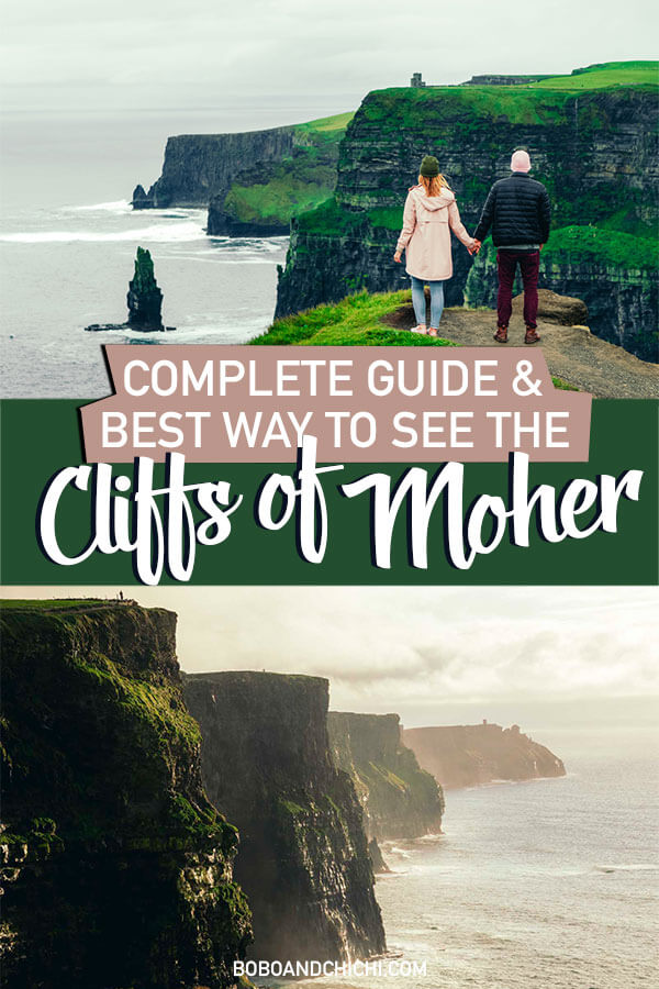 best way to see Cliffs of Moher