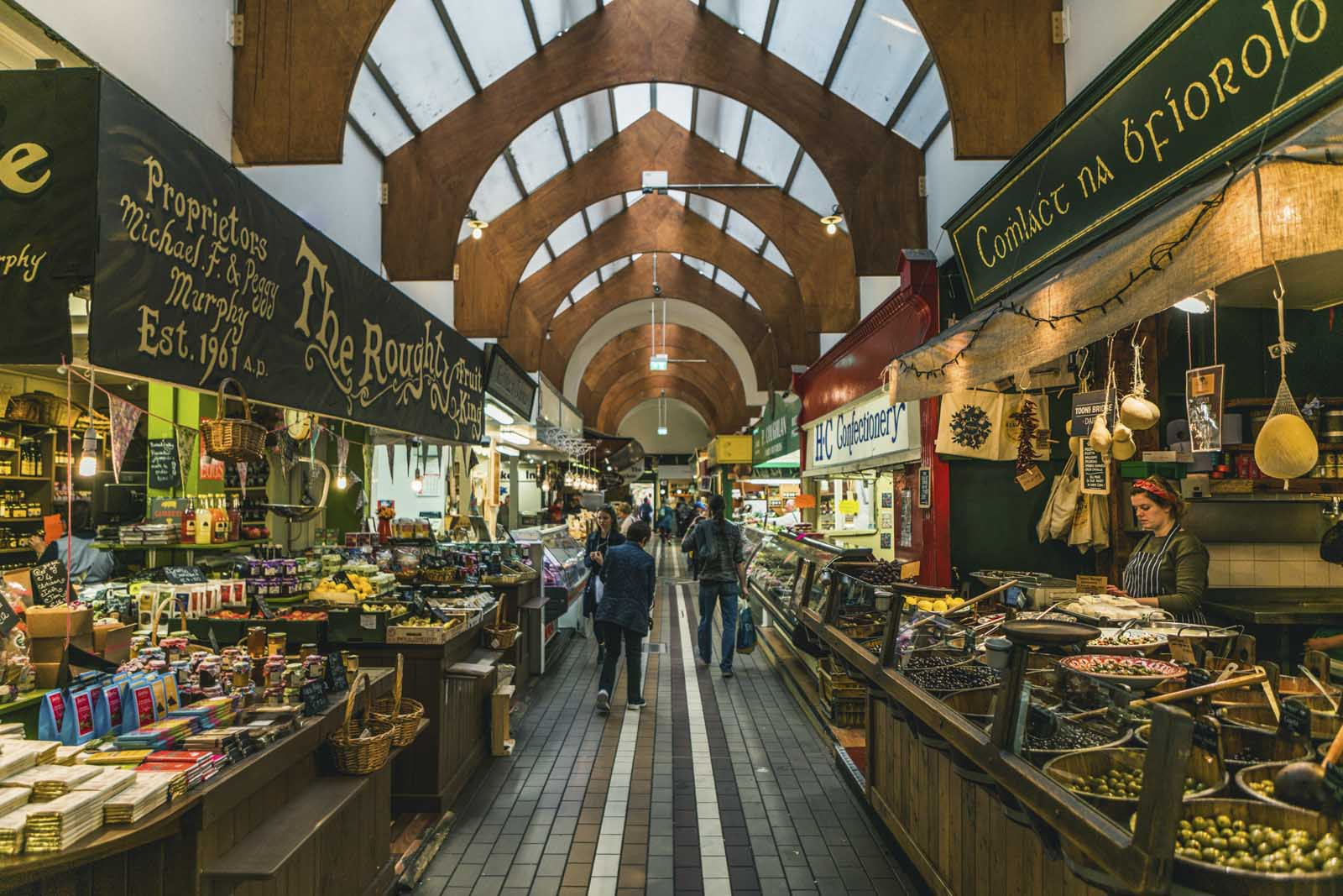 English Market in Cork Ireland