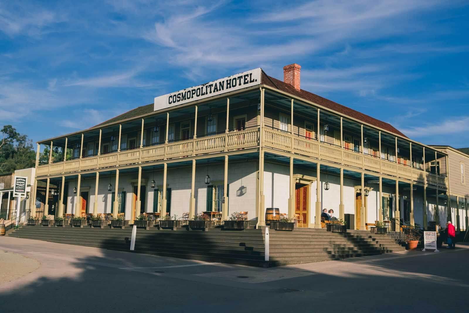 Cosmopolitan Hotel in Old Town San Diego