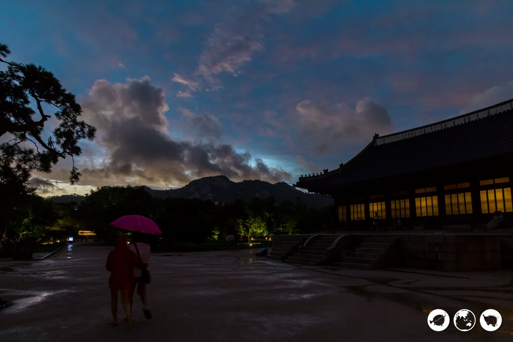 Gyeongbokgung Palace at Night