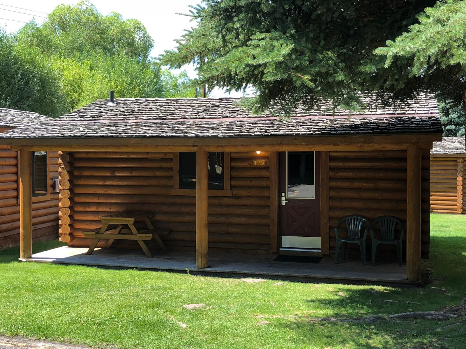 Cowboy Village cabins in Jackson Hole Wyoming