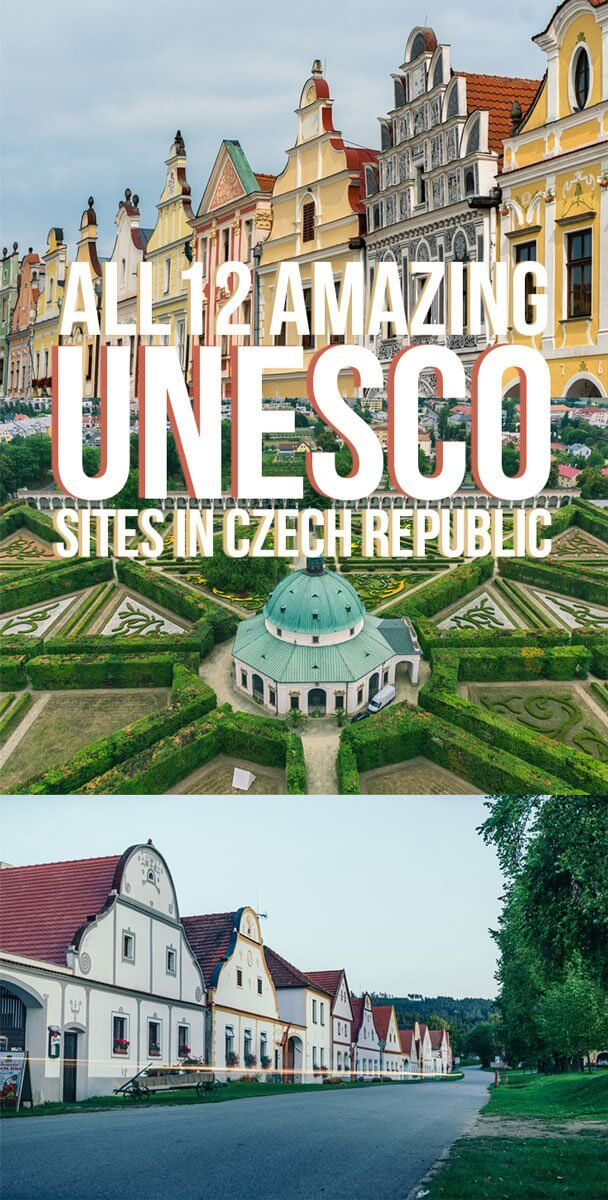 All 12 UNESCO World Heritage Sites in the Czech Republic