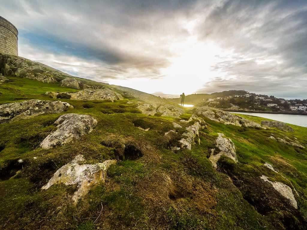 Dalkey Island near Dublin Ireland