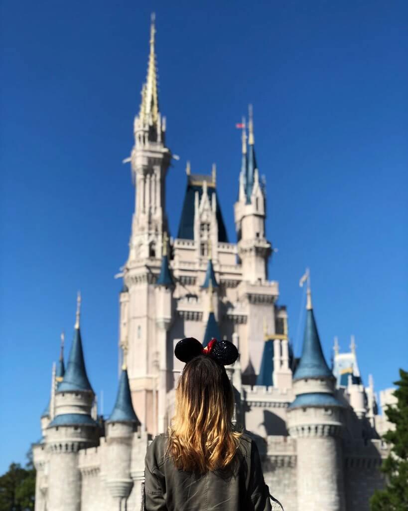 Disneyworld Magic Kingdom Castle