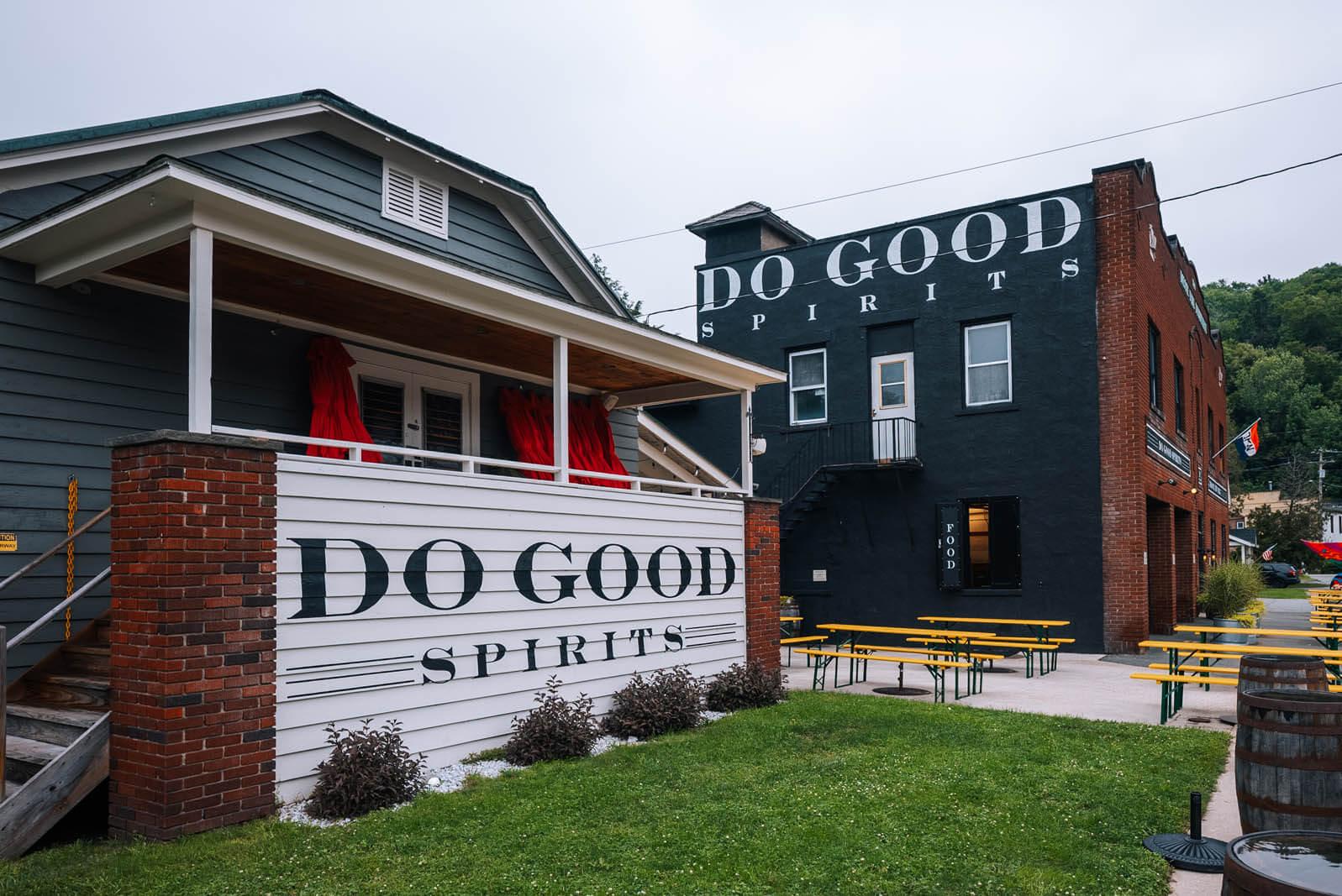 Do Good Spirits Distillery in Roscoe Catskills New York