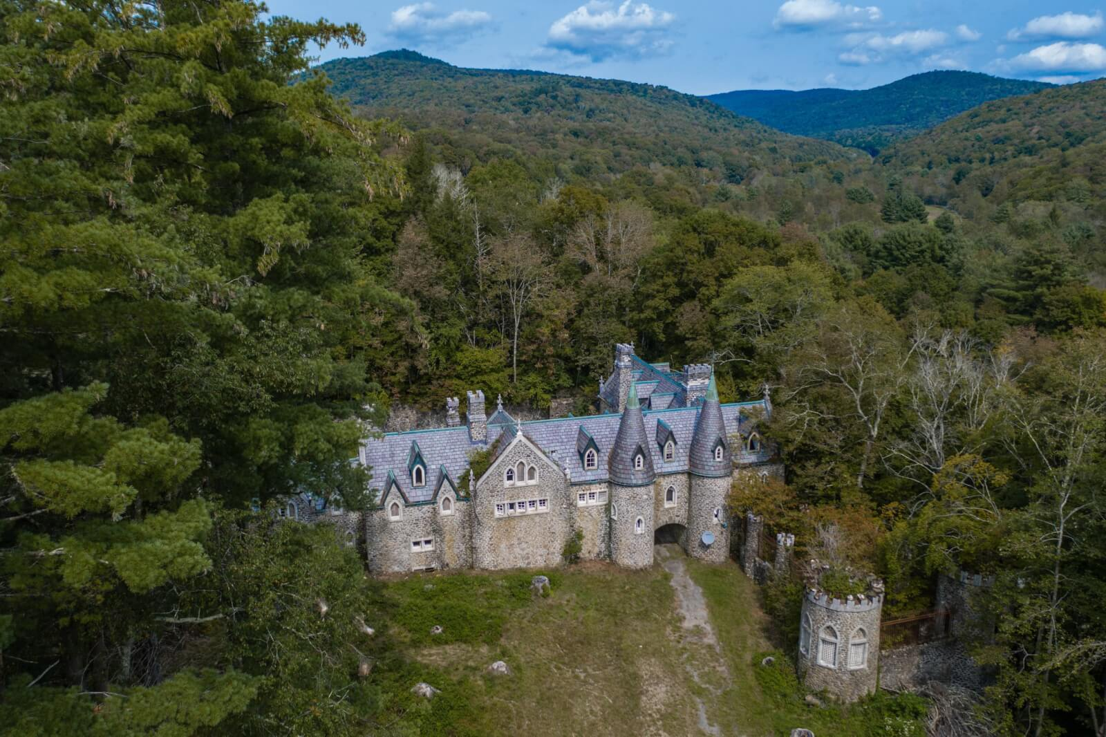 Dundas Castle in Roscoe New York in the Catskills