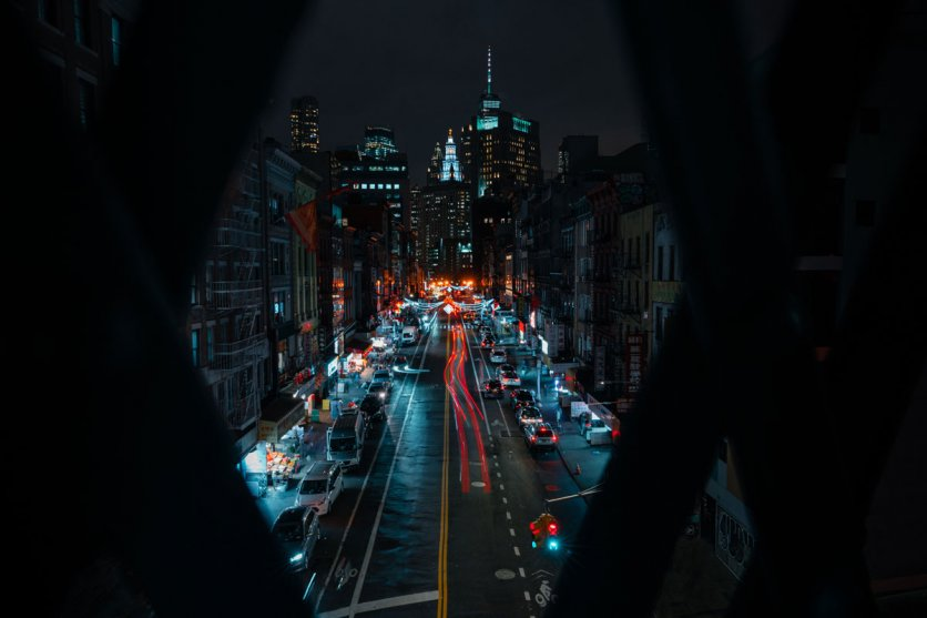 East-Broadway-View-in-NYC-at-night