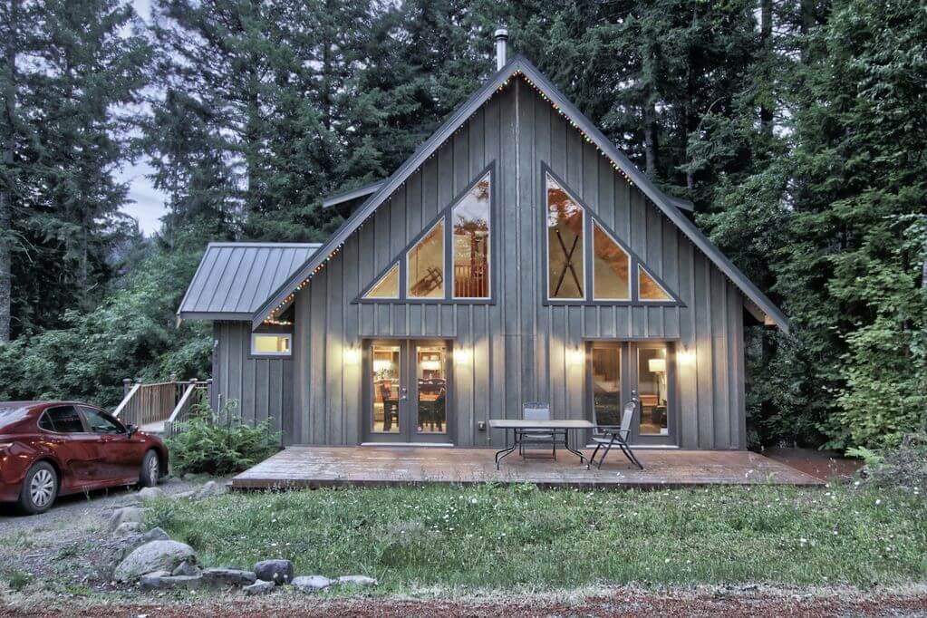 Elk Run Lodge in Washington near Mt Rainer