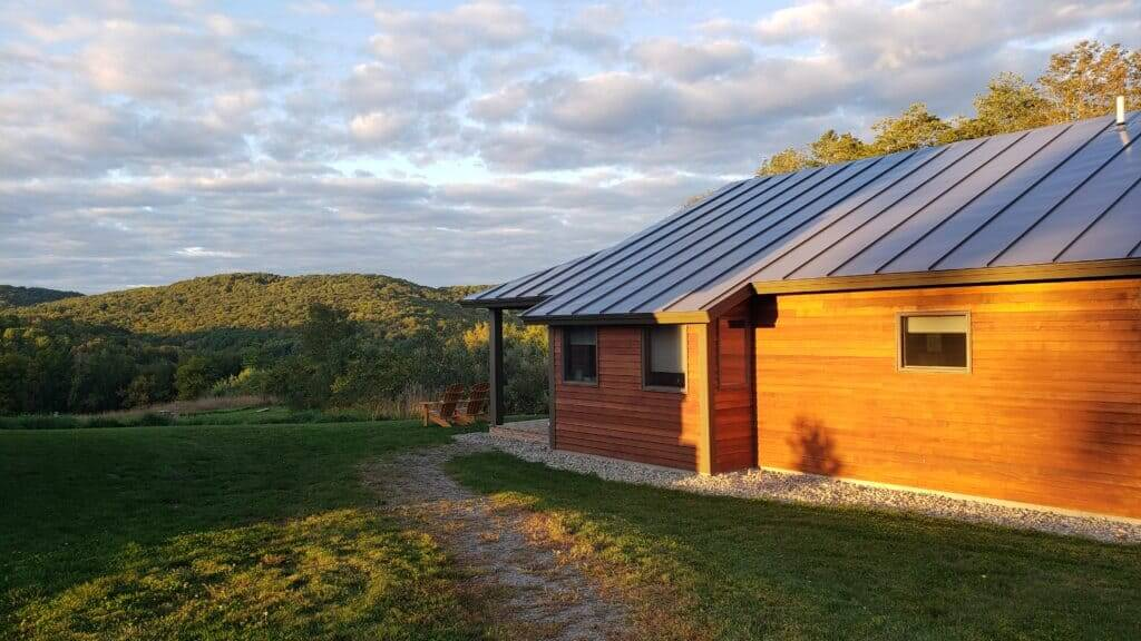 Fat Sheep Farm cabins in vermont