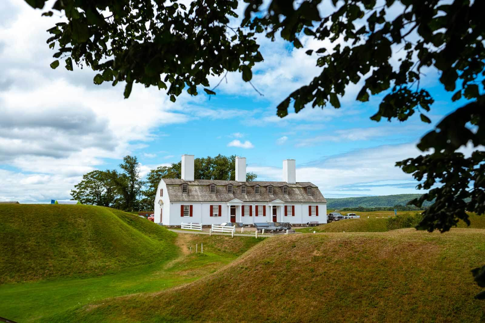 Fort Anne National Historic Site in Nova Scotia