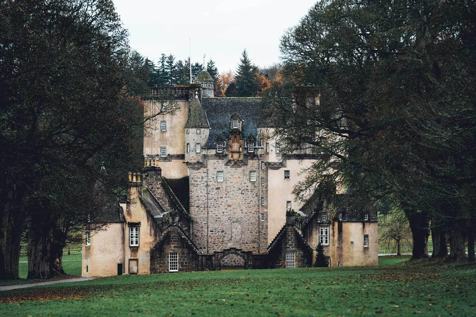 Fraser Castle in Aberdeenshire