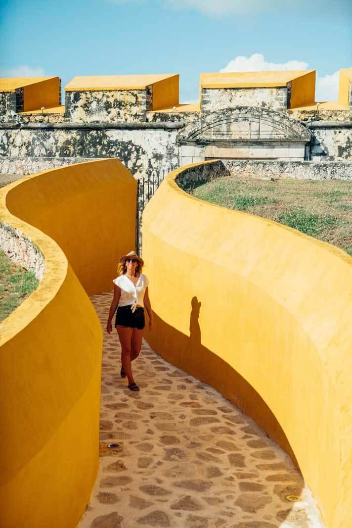 Fuerte San Jose entrance in Campeche