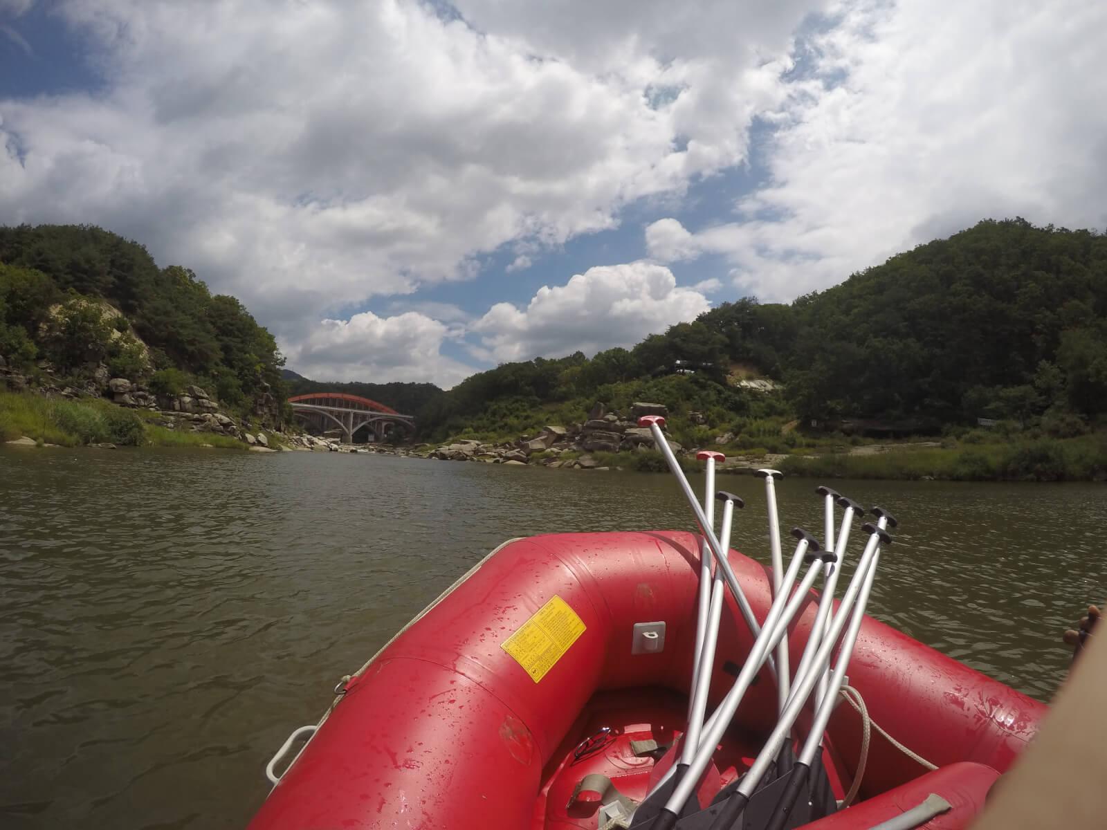 White Water Rafting North Korea